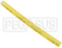 "Click for a larger picture of 6"" Adhesive Heat Shrink Tube, 12-10 Ga Translucent Yellow"
