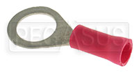 "Click for a larger picture of Terminal, 22-18 Gauge Red  5/16""  Ring"