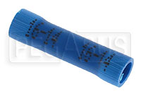 Click for a larger picture of Terminal, 16-14 Gauge Blue - Butt Splice