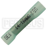 Click for a larger picture of Adhesive Lined Heat Shrink Butt Splice Terminal, 16-14 Gauge