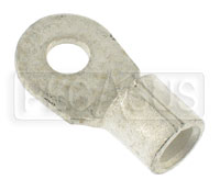 "Click for a larger picture of Ring Terminal for 4 Gauge Battery Cable, 1/4""  Ring"