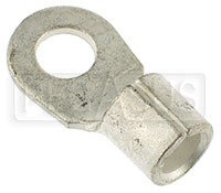 "Click for a larger picture of Ring Terminal for 4 Gauge Battery Cable, 5/16""  Ring"