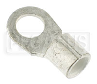 "Click for a larger picture of Ring Terminal for 4 Gauge Battery Cable, 3/8""  Ring"