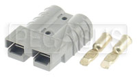 Click for a larger picture of 50 amp Auxiliary Battery Connector Half (Small Size)