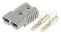 Click for a larger picture of 175 amp Auxiliary Battery Connector Half only (No Handle)