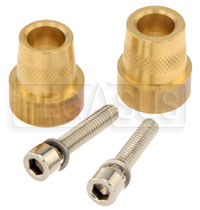 Click for a larger picture of M6 Female to Brass Post Battery Terminal Adapter Kit