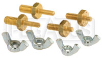 Click for a larger picture of M6 Female to 5/16 and 3/8 Stud Battery Terminal Adapter Kit