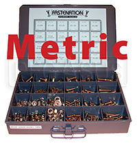 Click for a larger picture of Standard DIN Metric Hardware Kit & Box