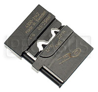 Click for a larger picture of Die Set for 22-10 Gauge Non-Insulated Terminals