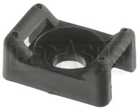 Click for a larger picture of Saddle Mount for Large Cable Ties, Black