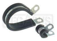 Click for a larger picture of Cushioned Metal Cable Clamp