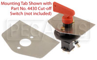 Click for a larger picture of Master Switch Mounting Tab