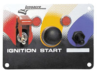 Click for a larger picture of Switch Panel w/Guard, Start Button, Accessory Switch & Lites