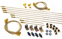 Click for a larger picture of Longacre Complete Brake Line Kit, 3AN