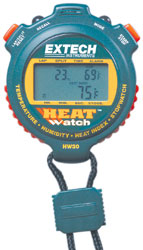 Click for a larger picture of Robic HW30 Heat and Humidity Stopwatch, 30 Lap Memory