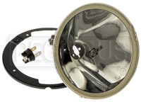 "Click for a larger picture of Cibie Oscar SC ""Snap-In"" Halogen Headlamp, Cornering Version"