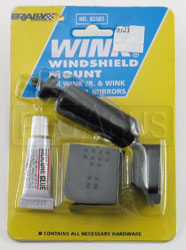 Click for a larger picture of Windshield Mount Kit for Wink Mirror, Each (2 required)