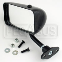 Click for a larger picture of SPA F1 Convex Mirror, Nylon, Left Side
