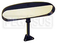 Click for a larger picture of SPA Design Center Mirror, Convex Lens - Carbon Fiber