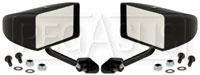 Click for a larger picture of Club Series Rectangular Flat Lens Mirrors, Nylon, Pair