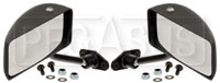 Click for a larger picture of Club GT Series Convex Lens Mirrors, Nylon, Pair