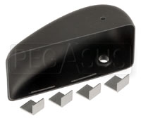 Click for a larger picture of Replacement Vinyl Housing for Club GT Series Mirror, LH