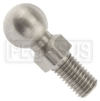 Click for a larger picture of Replacement Stainless Steel Ball Stud, 1/4-28 Thread