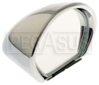 Click for a larger picture of Vitaloni Sebring Mach I Mirror, Chrome - Flat Lens