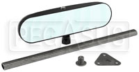 Click for a larger picture of SPA Center Sports Car Mirror, Unfinished Stem, Convex Lens