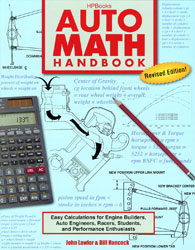 Click for a larger picture of Auto Math Handbook by John Lawlor
