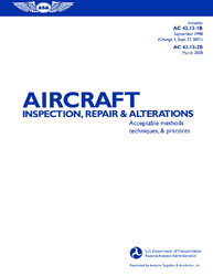 Click for a larger picture of Aircraft Inspection & Repair  AC43.13-1B