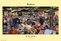 "Click for a larger picture of ""Siebkens - The Last Open Bar""  18 x 32 inch Color Print"