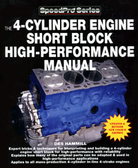 Click for a larger picture of The 4-Cylinder Engine Short Block High-Performance Manual