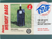 Click for a larger picture of EZ-Up Deluxe Weight Bag Kit, Set of Four