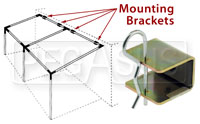 Click for a larger picture of Canopy System Trailer/Wall Mount