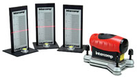 Click for a larger picture of Intercomp Laser Scale Pad Leveling System with Case