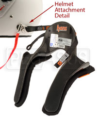 Click for a larger picture of Model 20 HANS Device, Pro Ultra, Sliding Tethers, QC