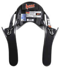 Click for a larger picture of Model 20 HANS Device, Pro Ultra Lite, Sliding Tethers, Post