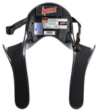 Click for a larger picture of Model 20 HANS Device, Pro Ultra Lite, Sliding Tethers, QC