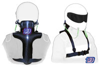 Click for a larger picture of R3 Head and Neck Restraint for Cage Karts, Child (5-10 yrs)