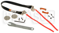"Click for a larger picture of HANS VA Plus Sliding Tether Kit (18""), QC, Sport II Only"