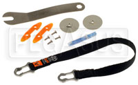"Click for a larger picture of HANS VA Plus Sliding Tether Kit, Medium (18""), PA"