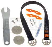"Click for a larger picture of HANS VA Plus Sliding Tether Kit (17""), LW2 Attachment"