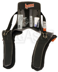 Click for a larger picture of Model 20 HANS Device, Pro Series, Sliding Tethers, Post