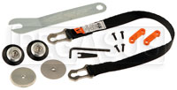 Click for a larger picture of Tether & Anchor Kit - Sport PA Sliding, for Adjustable HANS