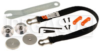 Click for a larger picture of Tether & Anchor Kit - Pro PA Sliding, for Adjustable HANS