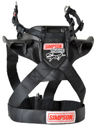 Click for a larger picture of Simpson FIA Hybrid Sport Restraint, Sliding PA Tethers