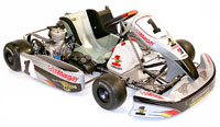 "Click for a larger picture of Margay Brava 1.9 ""Limo"" Kart, Rolling Chassis"