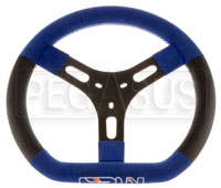Click for a larger picture of Merlin Factory Steering Wheel, Standard Kart