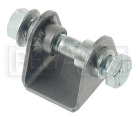 Click for a larger picture of Weld-On Shock Absorber Bracket, Flat Mount